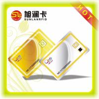 ISO CMYK Printing RFID Blocking Card 125KHz , Contact RFID IC Cards SLE4442 Chip Manufactures