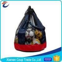China 420D Oxford Cloth Mesh Soccer Ball Bag 65 X 65 X 82 Cm Size Big Loaded Ball Package on sale