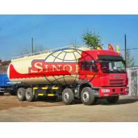 FAW 8x4 Dry Powder Bulk Cement Truck Low-Roof / High-Roof Cabin Type Manufactures