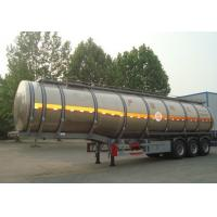 Hydrogen Peroxide Liquid Tanker Loads For Transporting Chemical Liquid Manufactures