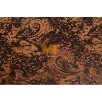 100 Polyester Brushing / Dyeing Textured Upholstery Fabric For Chair Soil Release Manufactures
