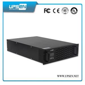 Quality 19 Inch Rack Mount UPS 3000va Online UPS for Bank for sale