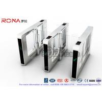 Luxury Speed Gate Access Control System CE Approved For Office Building With 304 stainless steel Manufactures