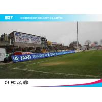 China P10 SMD 3535 Full Color Stadium Led Screen , Led Perimeter Advertising Boards Football on sale