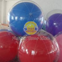 Transparent Inflatable Advertising Inflatable Helium Balloon for Entertainment events Manufactures