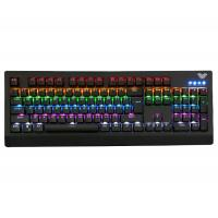 Rainbow RGB Backlit Gaming Keyboard AULA 886 Demon King Ghosts Zone Manufactures