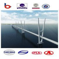 Customized Cable Stay Bridges With Hot - Dip Galvanized Surface Protection Manufactures