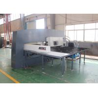 Amada Cnc Turret Punching Machine , 4 Axis Industrial Punch Press Machine Manufactures