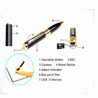mini pen hidden micro camera mini dv dvr video camera  spy camera pen Manufactures