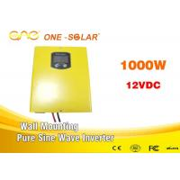 1000 Watt 12v 24v 220v Solar Battery Inverter / Psw Inverter With DSP Chip Manufactures