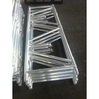 Quality Foldable Stage Lighting Truss 760mm X 660mm Silver / Black Color For Outdoor Performance for sale