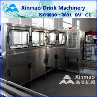 5 Gallon Water Filling Machine , 3 In 1 Liquid Filling Production Line Manufactures