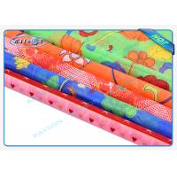 Multi - Color Printing Embossed Spunbond Non Woven Fabric Anti - Bacterial Manufactures