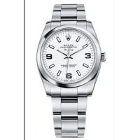 Rolex Air King Mens Automatic 114200 White Dial Manufactures