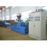 China PET waste plastic recycling machine Co - rotation Parallel Twin screw on sale