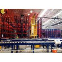 Anti Corrosion Roller Pallet Racking Systems / Warehouse Pallet Storage Racks Manufactures