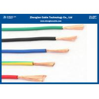 High Temperature Wire & Fire Resistant Cables/ 450/750 BVR Cable use for House or Building Manufactures