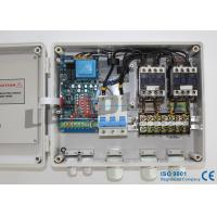 Duplex Sewage Pump Control Panel with 5min Recovery Time Of Under / Over Voltage Manufactures