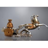 Classic Resin Decoration Crafts Chinese Characteristic Horse And Treasure Style Manufactures