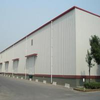 China Q235 345B Workshop Steel Buildings / Steel Structure Warehouse With Drawings on sale