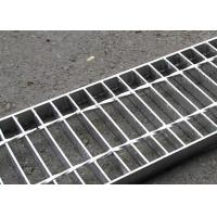 30 X 3 Concrete Steel Grating Drain Cover Hot Dip Galvanized Surface Manufactures