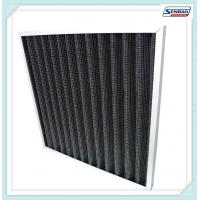 China Exhaust Gas Smokes Activated Media Air Filter Carbon Fiber on sale