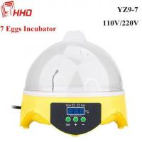Poultry egg incubator mini 7 chicken quail eggs with CE Approved for sale YZ9-7