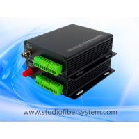 1CH BIDI balanced audio fiber transmitters and receivers with Phoenix connectors for remote broadcast/studio system Manufactures