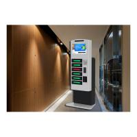 China Coin Operated Mobile Phone Charging Station , Cell Phone Chager Lockers 6 Digital Lockers on sale