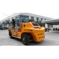 Quality Compact Structure 18 Ton Forklift , Diesel Powered Forklift Easy Operation for sale