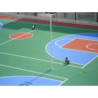 Polyurethane Basketball Court Flooring Full System With Water Base Top Coat Manufactures