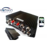 H.264 4Ch SD GPS Vehicle 4G Mobile DVR Mobile Digital Video Recorder Manufactures