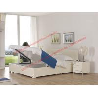 Pure White painting bedroom furniture set by storage bedstead in fashion Apartment design from italy Manufactures