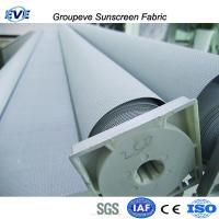 Fire Resistant PVC Curtains Blackout Roll Up Sunshade Blinds Manufactures
