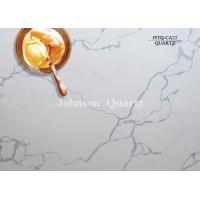 3m Length 2cm / 3cm Thickness Quartz Stone Countertops Smoothness Compact Structure Manufactures