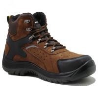 Injection pu/pu  with steel toe cap full grain  leather safety shoes Manufactures