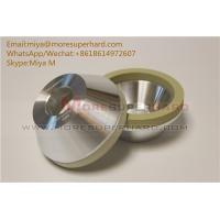 Quality 11A2   vitrified bond diamond grinding wheel for ceramic for pcd tools miya@moresuperhard.com for sale