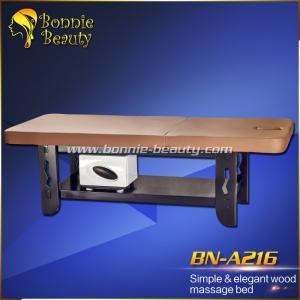BN-A216 Simple & elegant wood massage bed Manufactures