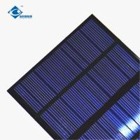 China 12V 1.3W Residential Solar Power Panels ZW-85115-12V 24 Battery Silicon Solar PV Module on sale