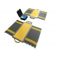 Water Resistant Portable Axle Weighbridge 400x300x40mm Each Pad Dimension Manufactures