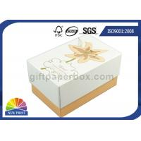 Imprint Gold Stamping Cardboard Gift Box Packaging Stylish Design Custom Shapes Manufactures