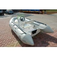 China PVC 5 Person Inflatable Boat For Fishing , 330m Jockey Console Marine Inflatable Boat on sale