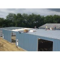 Bolts Connection Steel Structure Workshop For Wood Waste Processing Plants for sale