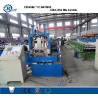 Buy cheap Steel Profile Sizes Stud And Track Roll Forming Machine With Changeable Cutting Blades from wholesalers