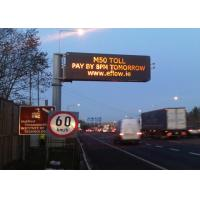 Full Color Dynamic Message Signs Maximum Brightness 15000nits Environment Friendly Manufactures