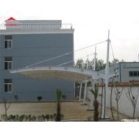 China Colorful Tensile Fabric Structures / Car Park Shed 950gsm PVC Roof Fabric on sale