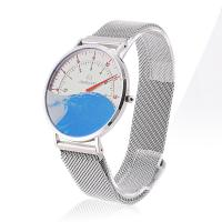 Hardened Mineral Glass Watch , Modern Premium Mens Watch With Nylon Band
