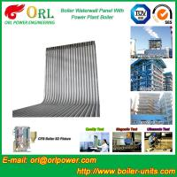 35 Ton Petroleum Steam Boiler Water Wall Tubes ORL Power SGS With Hot Water Manufactures