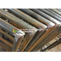 48 X 3mm Carbon Steel Metal Safety Fencing , Building Steel Security Fencing Manufactures