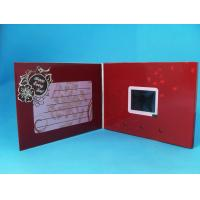 China Battery Operated 2.8 Inch Custom Video Greeting Cards Brochure 95*54mm on sale